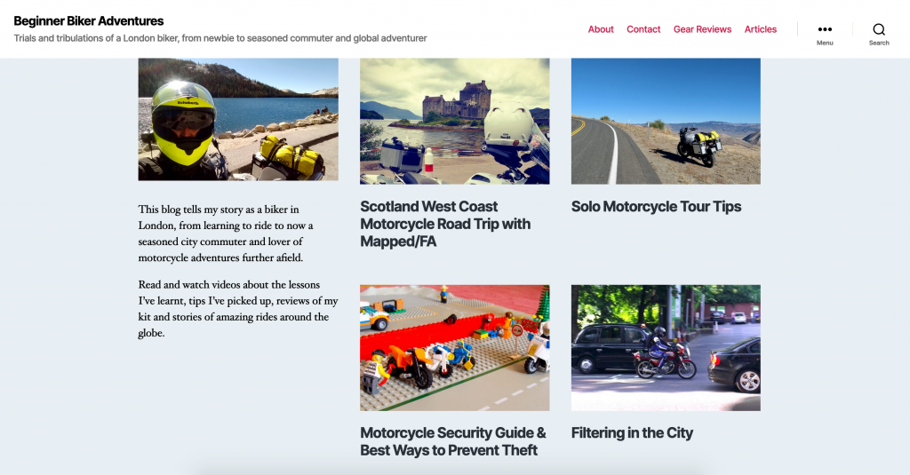 Beginner Biker Adventures Motorcycle Blog